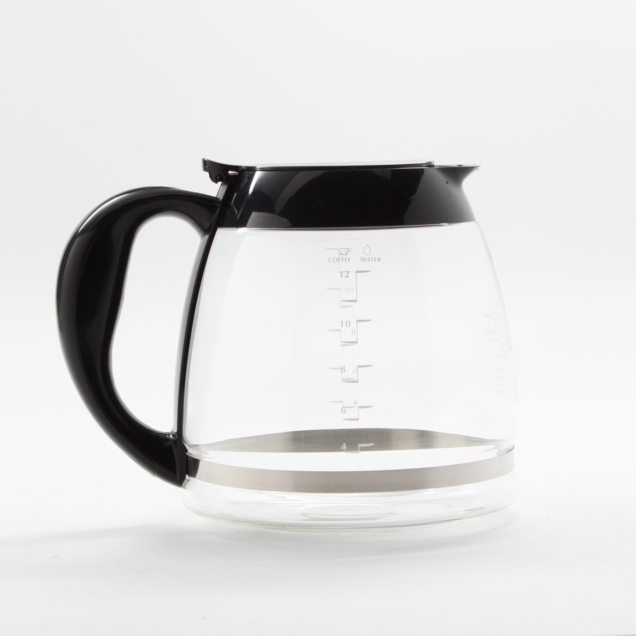 Black & Decker replacement carafe chart